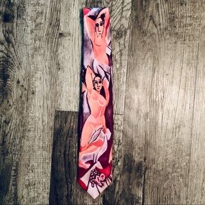 Vintage Ralph Marlin Picasso les Demoiselles  Tie